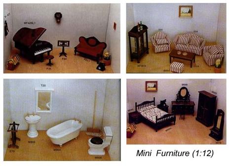 mini bútor babaházhoz