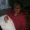 Nagymama a dédunokájával