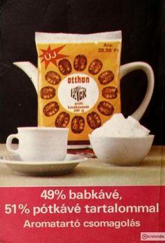retró kávé reklám 1