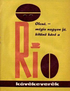 retró kávé reklám 5