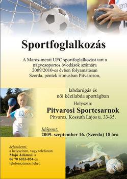 Sportfoglalkozás