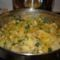zöldséges cukkínis krumpli köret
