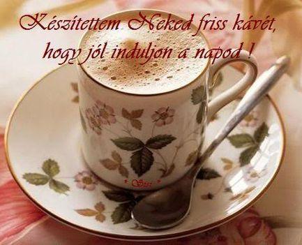 Jó kávézást...