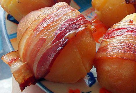 szalonnás krumpli