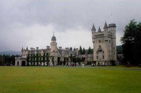 Scotland 3 A Balmoral kastély, Erzsébet királynő skót rezidenciája.