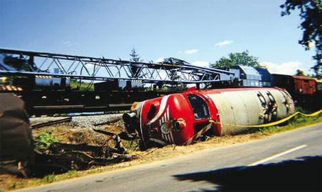 004 -s Nohab balesete 10 éve