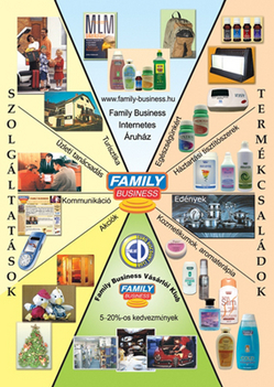 a family business MLM áruház termékei