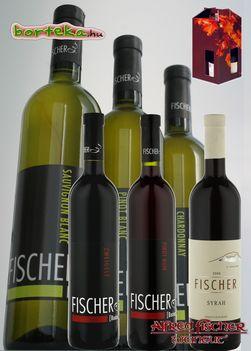 Badacsony aranya és rubintja ( Válogatás - Fischer - borteka.hu, ajándék csomagolásban )