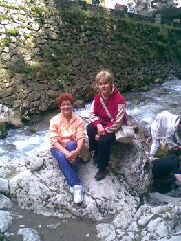 A Békás-patak kövein ülve 2009.