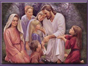 Jézus a tanitványokkal