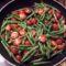 zöldbabos paradicsomsaláta
