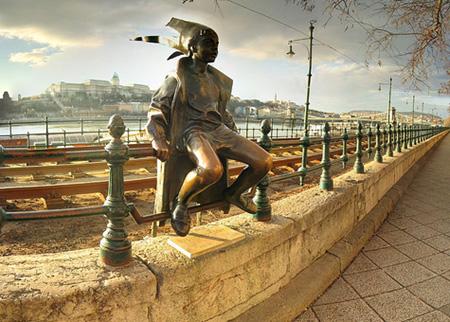 A pesti Duna-parton