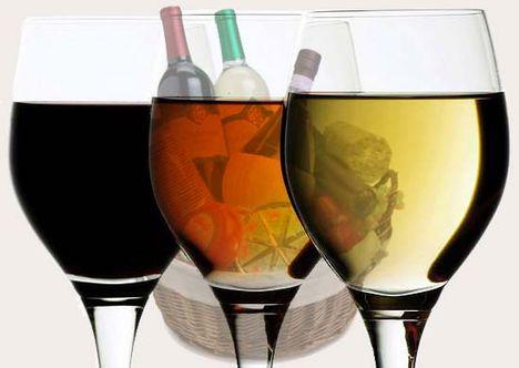 3 pohár bor