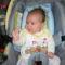 A négy hónapos unokám. 2