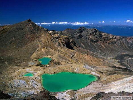 Emerald_Lakes-Északi-sziget