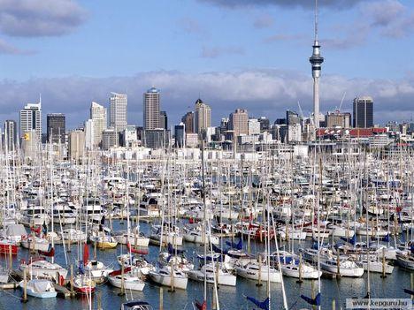 Jachtkikötö-Auckland-Északi-sziget