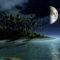 sziget és a Hold