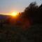 naplemente a hegyekbe