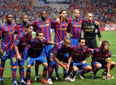 Barcelona csapatkép