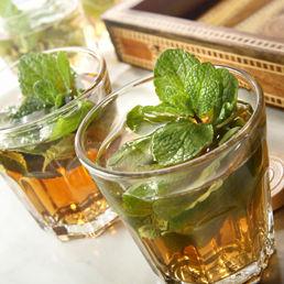teakoktél 3 - marokkói menta tea