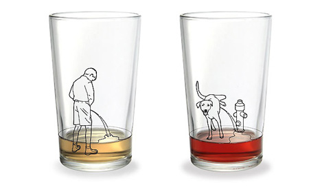 vicces pohár
