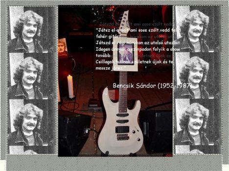 Bencsik Sándor emlékére