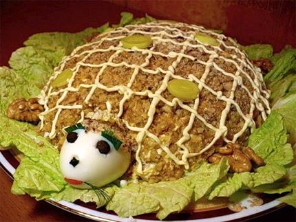 teknős saláta 1