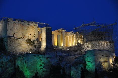 acropolis éjjel