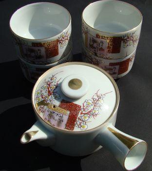 Porcelán teaszett