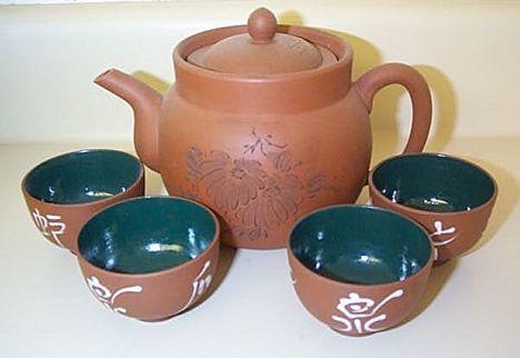 Puritánabb japán teáskészlet
