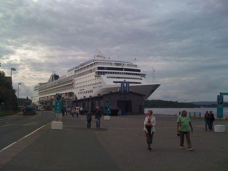 Koppenhágából indult a hajónk