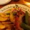 ...a tányér felirata volt a lényeg