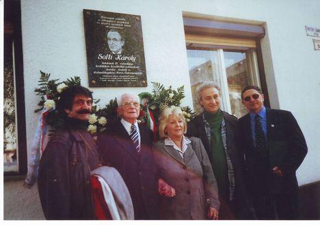 Miklóssy Józsf, Héjjas István, Pintér Györgyi, Ferkó István, Szikora István