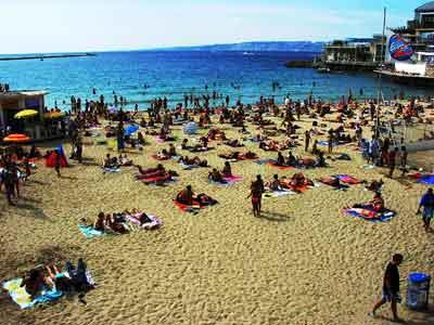 Marseille-i strand