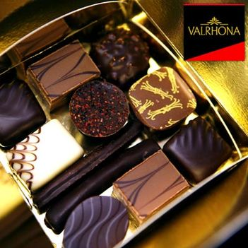 Valrhona Truffles bonbons