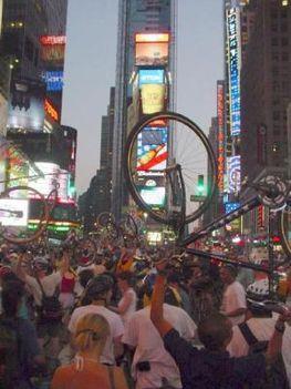 a Critical Mass New Yorkban is menő