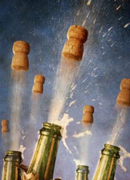 Egyszerre nyílik a pezsgő