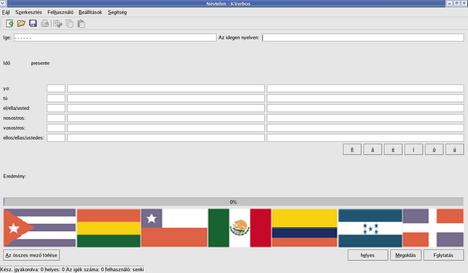 kverbos- szógyakoroltató szoftver