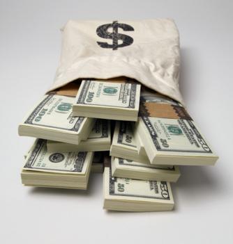 Pénz köteg