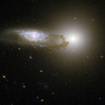 Hubble Interacting Galaxy AM 1316-241