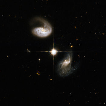 Hubble Interacting Galaxy CGCG 436-030