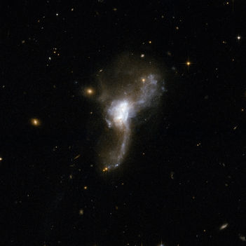 Hubble Interacting Galaxy ESO 148-2