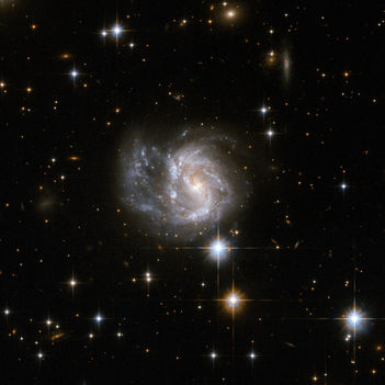 Hubble Interacting Galaxy IRAS 20351