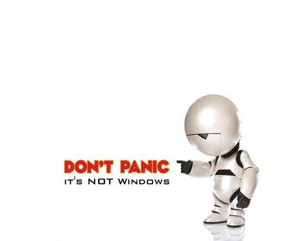 Don't Panic Linux