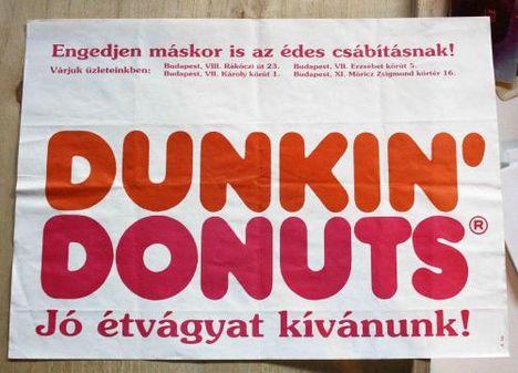 Dunkin Donut's zacsi