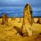 Pinnacle sivatag, Ausztrália