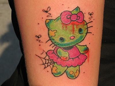 hello-kitty-zombie-tattoo
