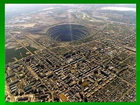 a világ legnagyobb gyémánt bányája