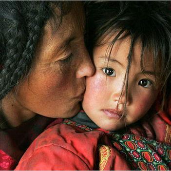 szépséges Tibet