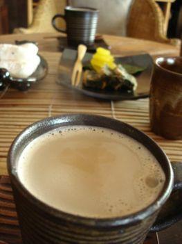 Chai tea tejjel